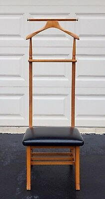 Danish Modern VALET / BUTLER CHAIR  Beautiful Vintage Mid Century Modern Piece !