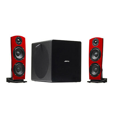 JAMO DIGITAL DS7 rosso SISTEMA DS7 STEREO SPEAKER + SUBWOOFER WIRELESS BLUETOOTH