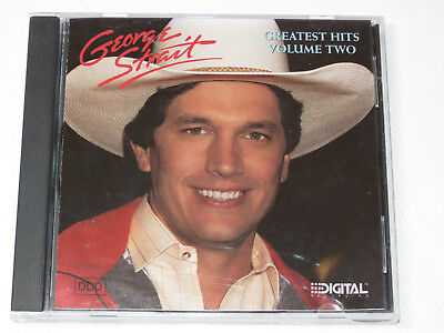 Geroge Strait Greatest Hits Volume Two MCAD-42035 BMG MCA Records 1987