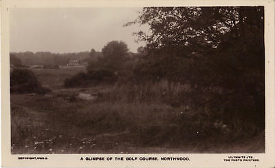 A Glimpse of the Golf Course - Northwood, Ak um 1930