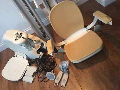 Acorn Supper-Glide 130 Stairlift 2016 Nearly New Hardly Used Been Removed 13Ft