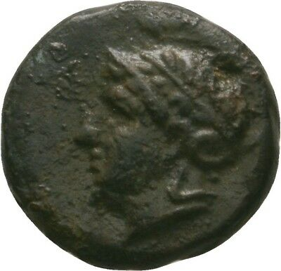 Lanz Mysia Pergamon Athena Helmet Bulls Fighting Bronze Rare Greek §dka1860