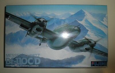 Maquette Messerschmitt Bf-110C/d. Fujimi . 1/72  Vintage.collection
