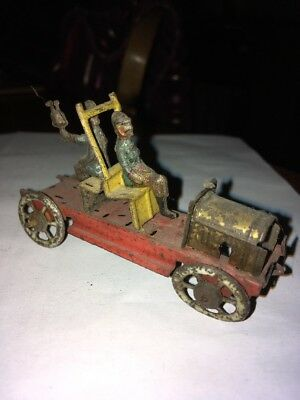 An Early Penny Toy Fire Engine Tinplate