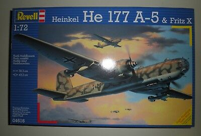 Maquette Heinkel He 177 A-5 . Revell  . 1/72  Vintage.collection
