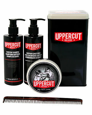 New Uppercut Men's Easy Hold Combo Limited Edition Tin