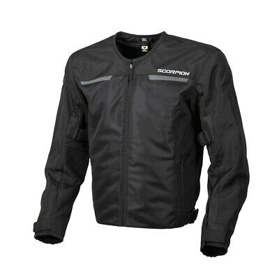 Scorpion EXO Drafter II Jacket Black Ventilated Mesh Sport All Sizes