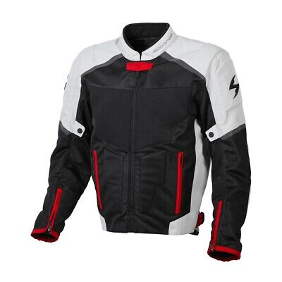 Scorpion EXO Influx Jacket Grey Ventilated Mesh Sport All Sizes