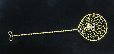New Chinese Long Handle Woven Brass Wire Canning Dumpling Strainer