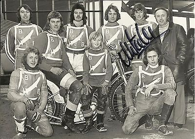 1975 Boston Barracudas team photo, ORIGINALLY SIGNED by MICHAEL LEE!