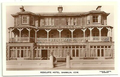 Isle of Wight postcard  Shanklin Redcliffe Hotel
