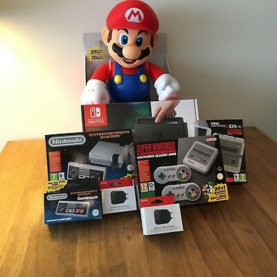 Nintendo Classic Collection: Nes Mini - Snes Mini - 3DS - Switch and more!