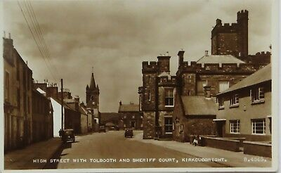 High Street With Tolbooth And Sheriff Court Kirkcudbright