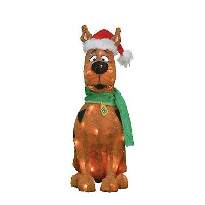"20"" Scooby-Doo Lighted Figure Christmas Outdoor Yard Decoration Outside Holiday"