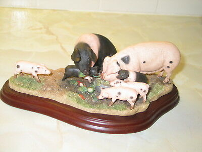 Border Fine Arts James Herriot Studio A9792 Pigs. Leave Some For Me 2009
