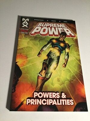 Supreme Power Vol 2 Powers And Principalities Tpb Nm Near Mint Marvel Comics