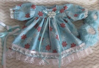 Set to fit 16 inch Cabbage Patch Kid Snowflakes Nighty and Slippers