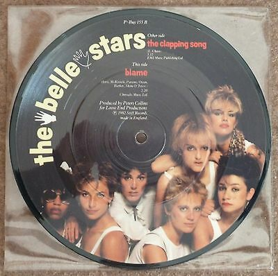 """The Belle Stars – The Clapping Song – 7"""" Picture Single"""