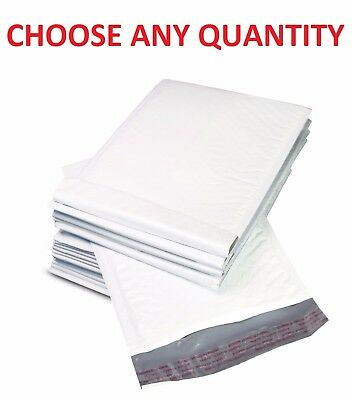 """#000 4x8 POLY BUBBLE MAILERS SHIPPING MAILING PADDED BAGS ENVELOPES 4"""" x 7"""""""