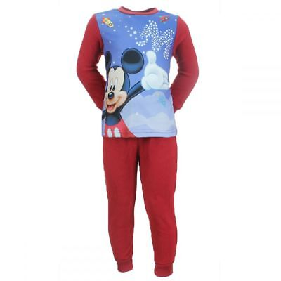 Pyjama Polaire Enfant Disney Mickey Rouge