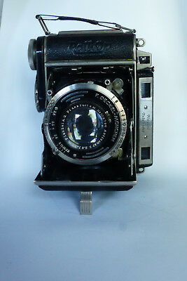 Plaubel Roll-Op 6x4.5cm folding camera with fast 75mm f/2.8 lens