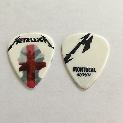Metallica Worldwired Guitar Pick Montreal, Canada Hardwired 7/19/17