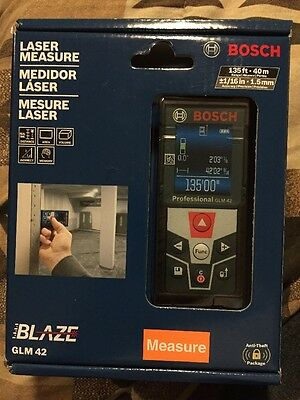 NEW! Bosch glm 42 full color