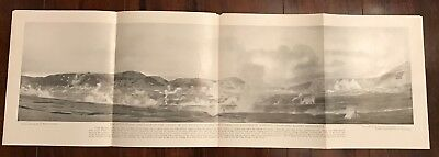 National Geographic 1918 Valley of Ten Thousand Smokes - Poster Supplement Photo