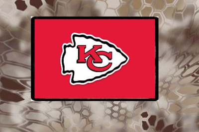 Kansas City Chiefs, Morale Patch, Hook and Loop, We Make Custom Ones, Chiefs