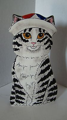 Limited Edition Cats By Nina Cat Vase