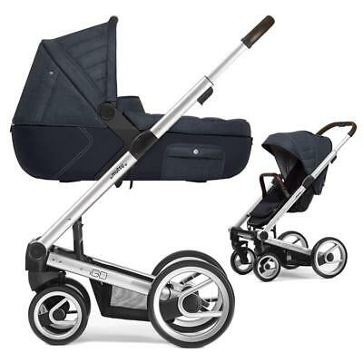 Mutsy Igo Pushchair with Carrycot Heritage Standard/Dusk NEW