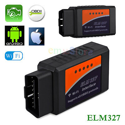 ELM327 WiFi Scanner OBD2 Car Engine Scan Tool Code Reader For iPhone iPad IOS