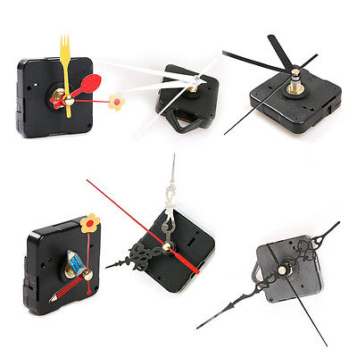 Multiple DIY Wall Clock Replacement Movement Parts Repair Time Hands Clock Motor