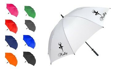 Personalised dancer sports umbrella brolly fashion gift many colours free p&p