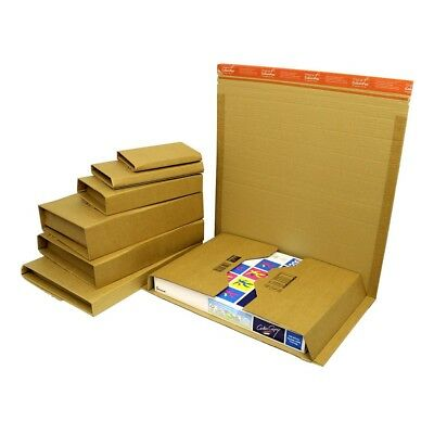 High Quality COLOMPAC Book Wraps, Lightweight Post Mailer Boxes in Various Sizes
