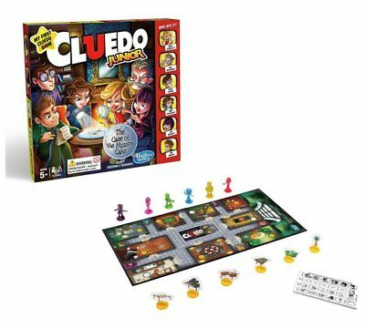 NEW Cluedo Junior Game From Hasbro Gaming Discover Who Took A Piece Of Cake_UK