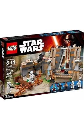 LEGO STAR WARS 75139 BATTLE ON TAKODANA. Free Fast Shipping
