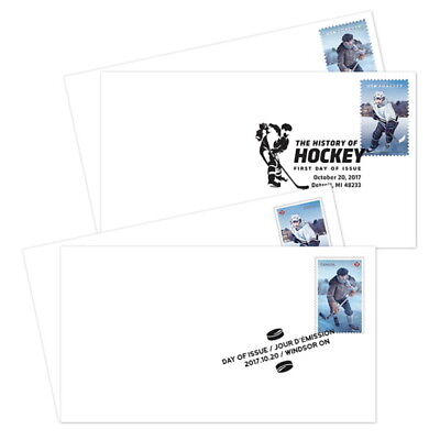 The History of Hockey Joint Souvenir Sheet FDC set of 2