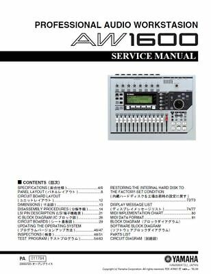 YAMAHA AUDIO REPAIR Service owner manuals dvd 1 of 5 in pdf format on