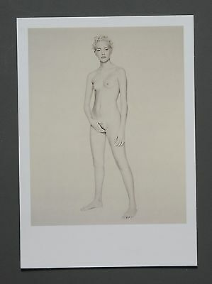 Paolo Roversi Limited Edition Photo 17x24 Jaimee Paris 1993 Nude Woman Standing