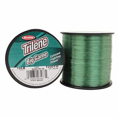 Berkley Big Game Green Monofilament Fishing Line *All Breaking Strains*