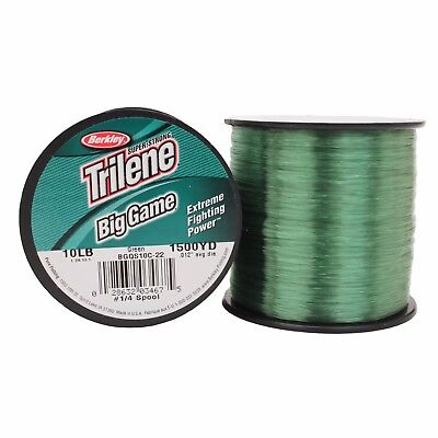Berkley Big Game Green Monofilament Mono Fishing Line Bulk Spool *All Types*