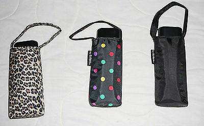 Raines Totes Manual Purse Umbrella M Medium Coverage Mini Compact with Cover