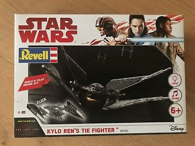 +++ Revell 06760 Star Wars Build & Play Kylo Ren's TIE Fighter