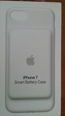 Original Genuine Apple iPhone 7 Smart BatteryCharging Case  White