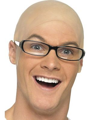 Bald Cap - Unisex Comedy Skinhead Dr Evil Harry Hill Fancy Dress Accessory FUN