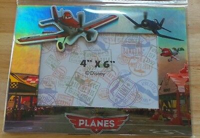 """""""BRAND NEW DISNEY PLANES 4""""x 6"""" PICTURE PHOTO FRAME """""""