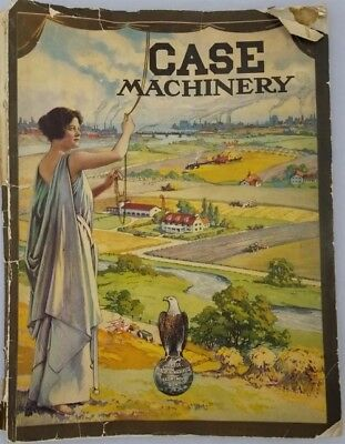 Case Threshing Machine 1918 Sales Catalog Tractors Farm Equipment Machinery Wi