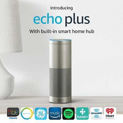 Amazon Echo Plus with built-in Hub – Silver New 2017 Model B06XB29FPF