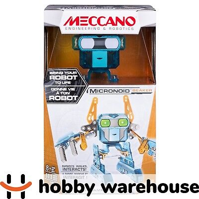 Meccano 17406 Micronoid Beaker - Orange/Teal